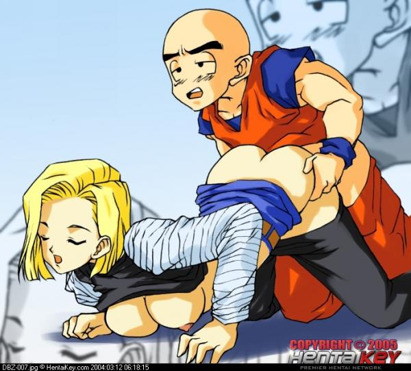 18 krillin and android sex Green pokemon with red eyes
