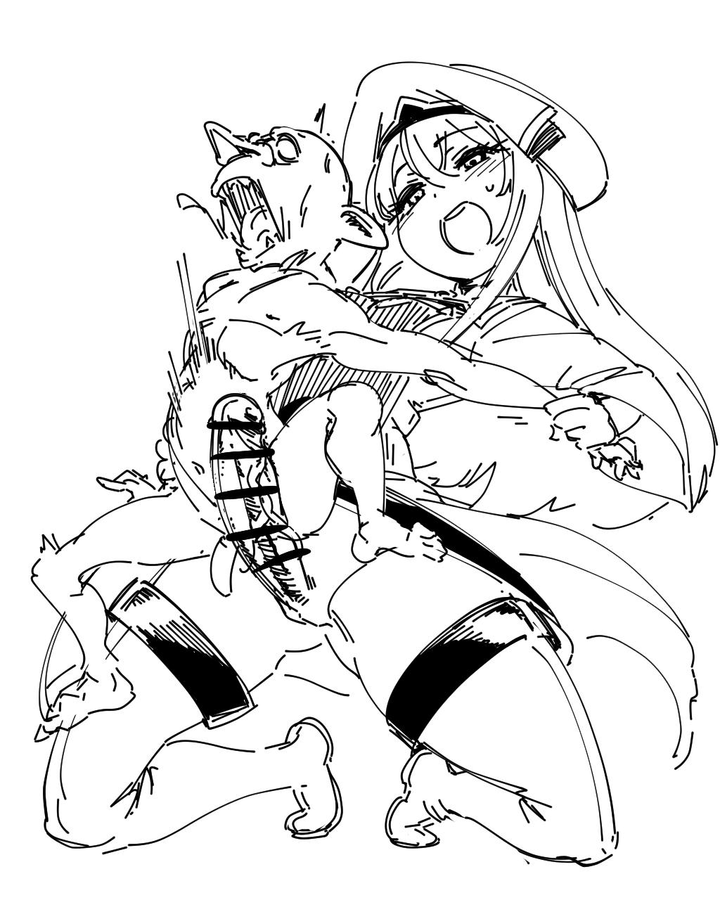 uncut ep 1 goblin slayer Shiina misha mikado