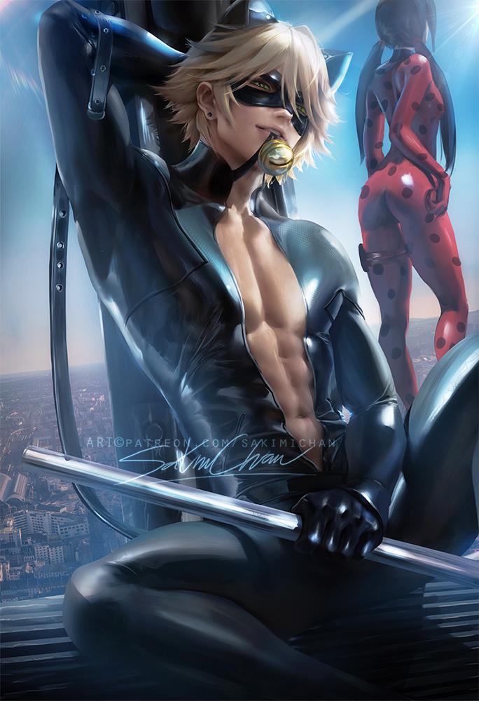 cat and nude noir ladybug Kichiku: haha shimai choukyou nikki uncensored