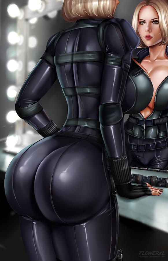 scarlett black widow nude johansson Affect3d - girlfriends 4 ever