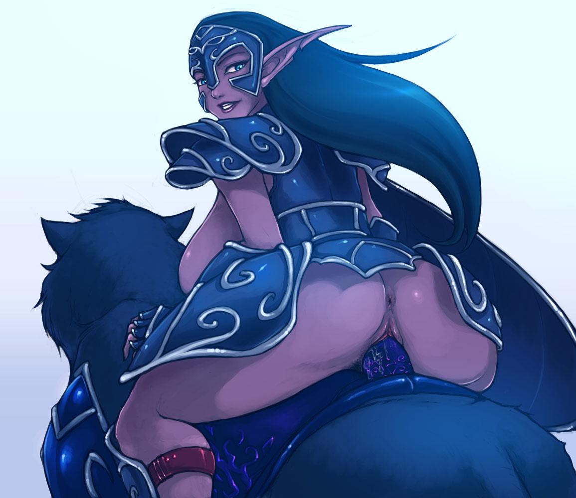 hard smerinka by dick's night Blood elf female demon hunter
