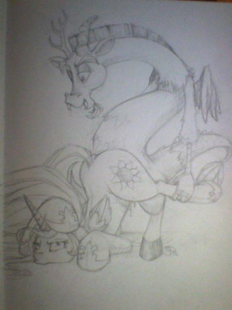 my queen celestia pony little League of legends wolf and lamb