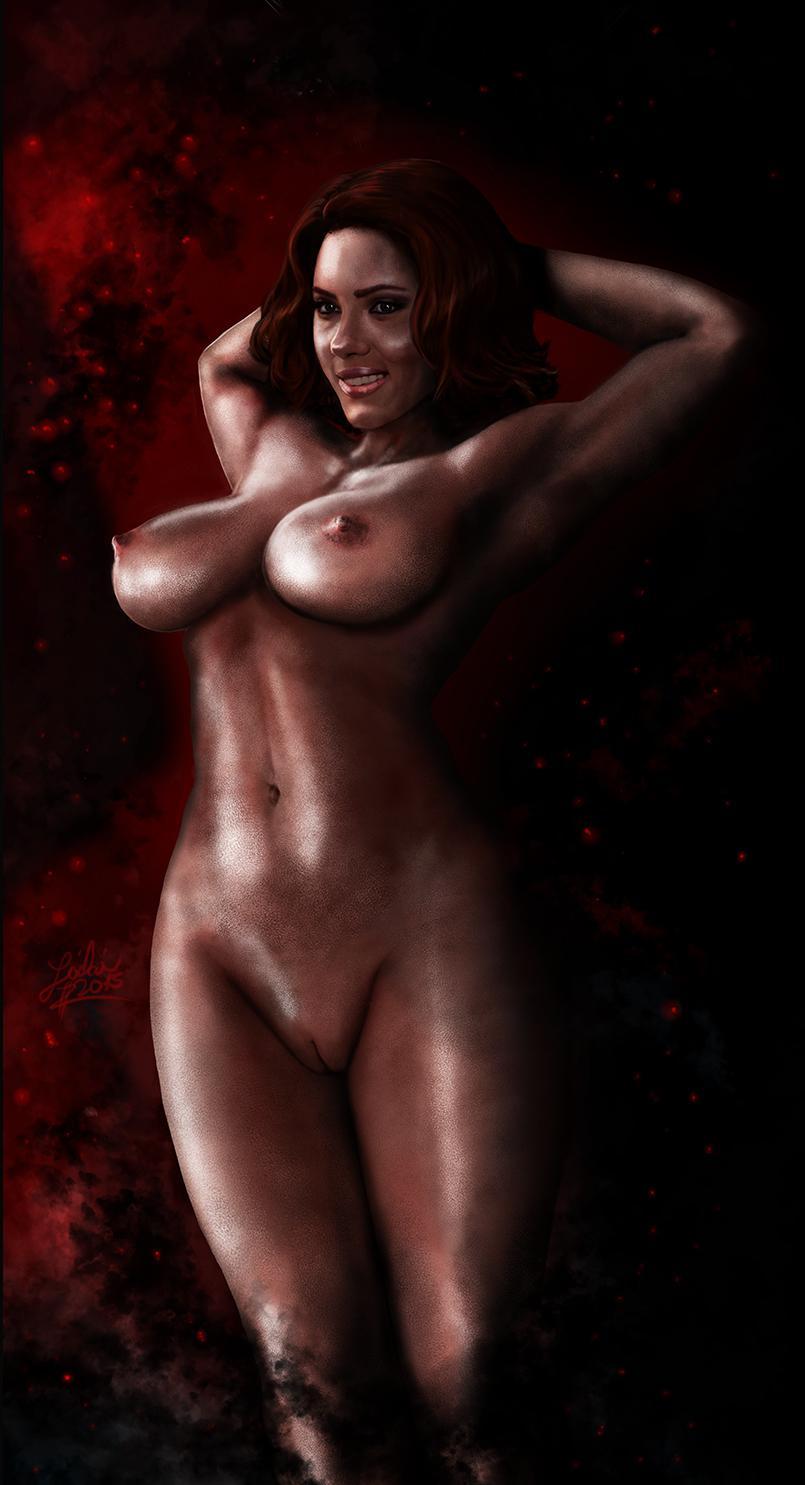 scarlett black nude widow johansson Mass effect khalisah al jilani