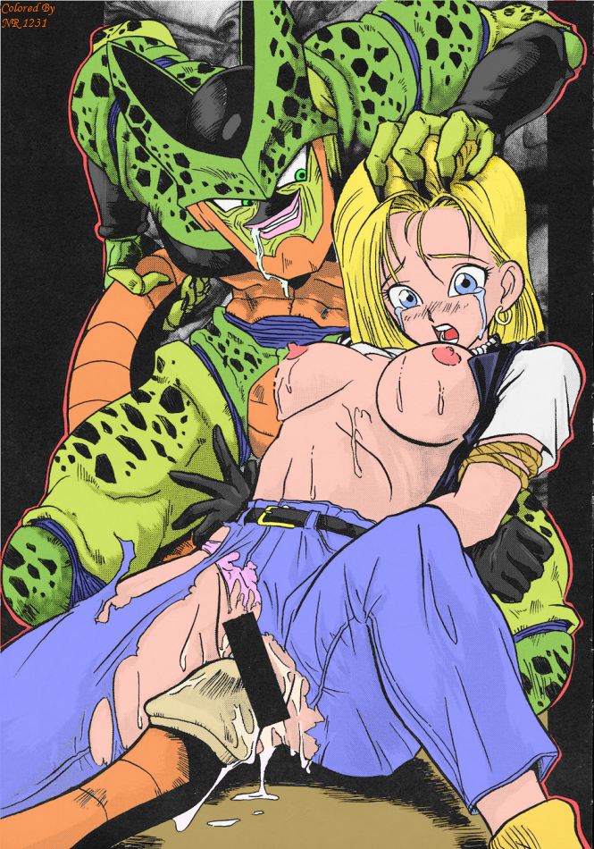 porn z ball android 18 dragon My little pony sex gif