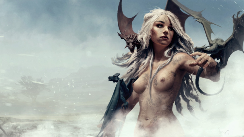 of dragon thrones queen game nude Pale skinned star trek android
