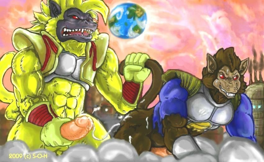 nappa vegeta z ball and dragon Diane seven deadly sins fanart