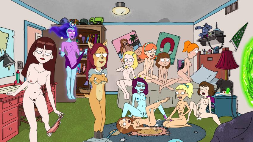and rick summer morty smith nude Ico el caballito valiente - preciosa