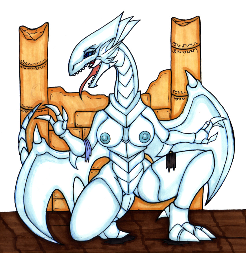 white eyes blue dragon Amazing world of gumball sex comic
