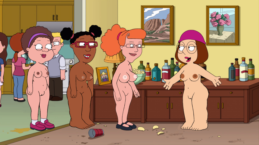 tits big guy family lois Living with gamergirl and hipster girl