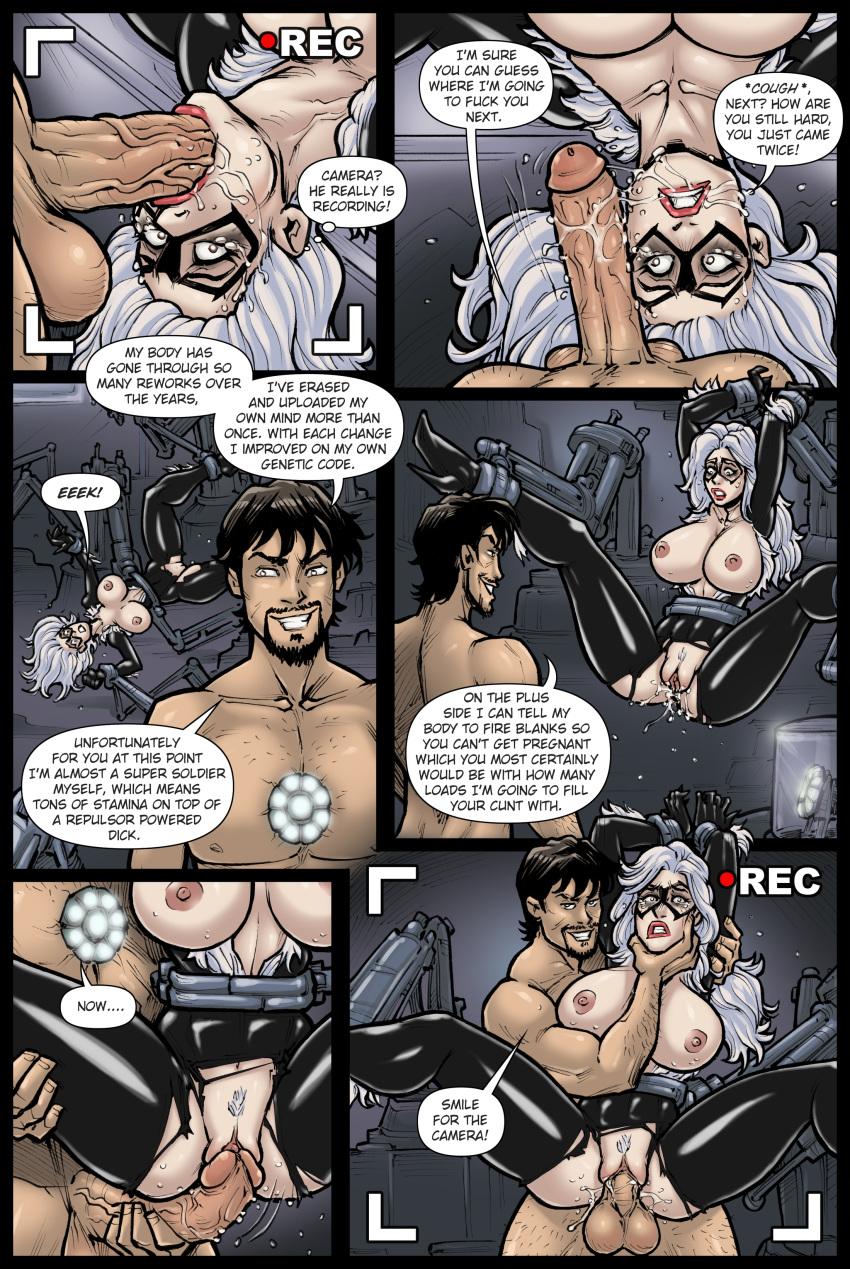 porn spider-man cat black Mlp equestria girls vinyl scratch