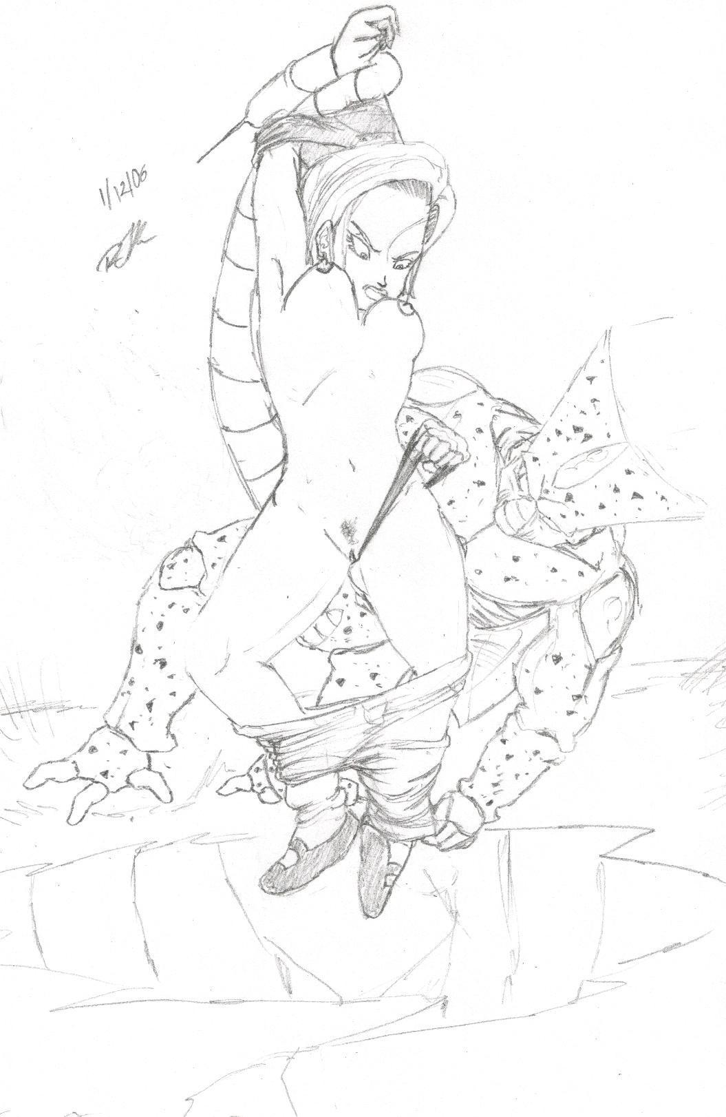 ball android 21 dragon naked Tate no yuusha no nariagari 33